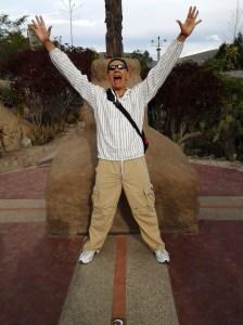 "The ""real"" equator at Intanan"