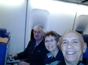 Roger and Helen, a couple I met on the way to New Zealand