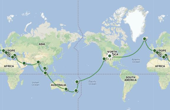 Interactive World Map Provides Details For Each Country I Am – Interactive World Travel Map