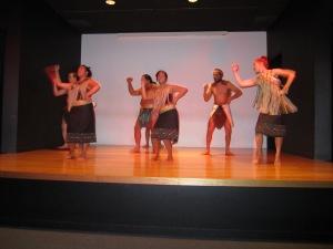Maori tribal dance
