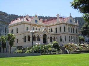 Parliament where I debated the tour guide