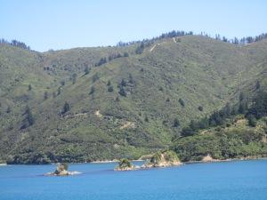 S. Island coast