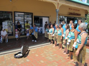 Maori songs being sung by these women
