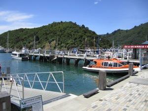 Wharf of Picton