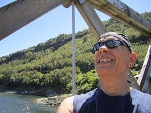 Me on the bridge.