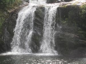 Close-up of Coal Creek Falls.