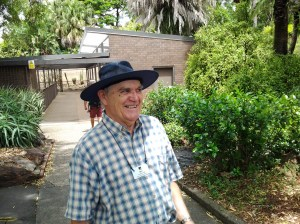 """Merv"" was the Botanical Gardens tour guide. His knowledge about trees, plants, and flowers was impressive."