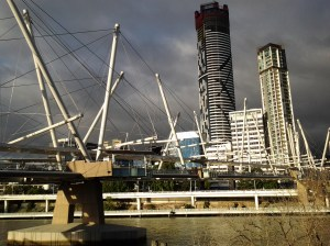 One last shot of the Kurilpa bridge.