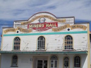 Historical Miners Union Building, est. 1908 I believe. I found this in the town of Runanga.
