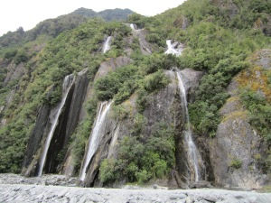 We must have passed a dozen or so water falls. Stunning!