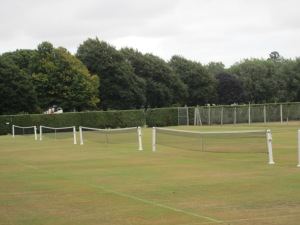 Hagley Park. I have never seen this many grass tennis courts in my entire life.