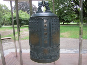 Peace Bell donated by Japanese I believe.