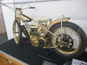 Famous bike from the late 60s, that apparently won a major road race.