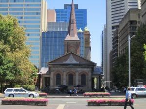 St. James Church, oldest church in Australia.