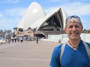Me in front of the famous Sydney Opera House.