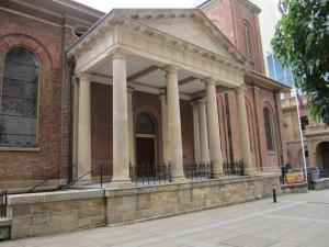 Main entrance to St.James Church.