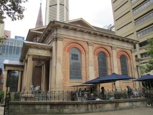 St. James Catholic Church, oldest church in Australia.
