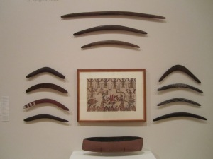 Aboriginal Boomerrangs.