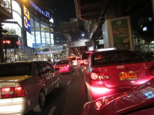 Traffic is even worse than I ever imagined. Fortunately, fares are inexpensive.