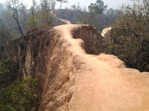 """Another view of this Pai Canyon """"bridge."""""""