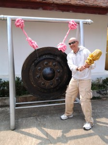 """The """"Gong Show"""" at Nam Hoo Temple."""