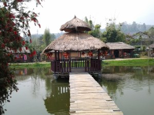 Chinese village.