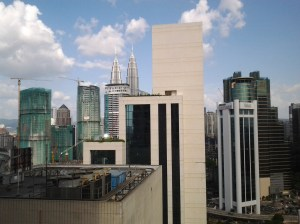 Another view from my hotel window.