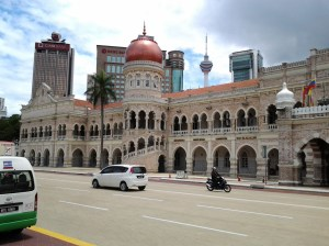 British government building at one time - now being used by the Malaysian government.