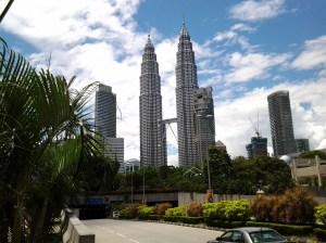 Petronas Twin Towers.