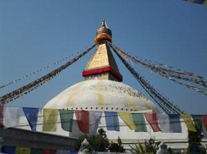 Boudhanath Temple.