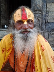 Another Sadhu who allowed me to photograph him.