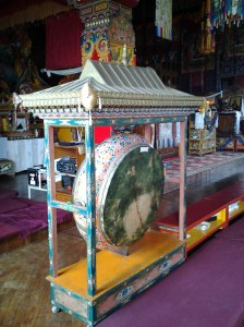 Drum used in Buddhist rituals.