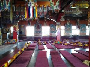 Where monks pray.