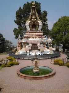 Buddhist shrine.