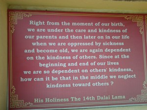 Quotations such as this from various lamas, including the Dalai Lama.