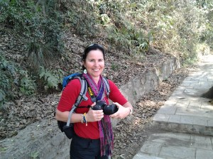 My hiking companion, Urizina Copacana.