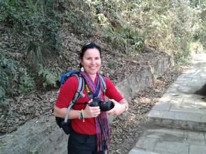 My hiking companion, Urizina Copacana.