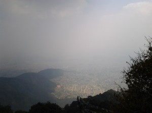 View from the peak.