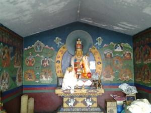 Shrine dedicated to Buddhist