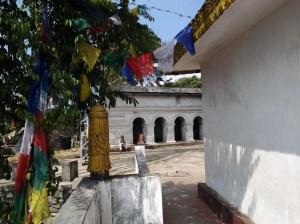 Rear of the shrine.