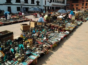 """For the most part, these guys don't send out """"touts"""" for their trinkets and souvenirs."""