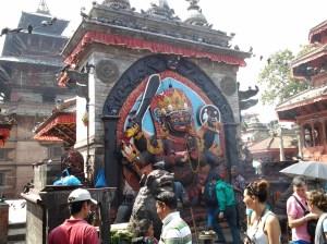 Kal Bhairav (Shiva).