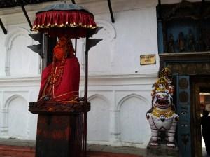 Hanuman Statue.