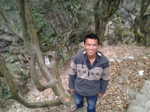 Bayan. I really enjoyed getting to know this young Nepalese man during our hike together.
