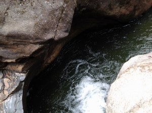 Gorgeous pools we discovered on another part of the trail.