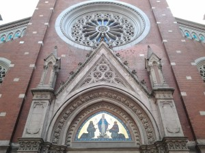 Saint Anthony of Padua Catholic cathedral was built in 1912.