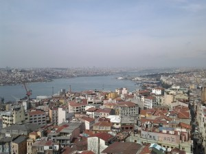 Bosphorus strait.