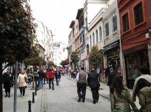 One of the many side streets I walked in Istanbul my 2nd day there.