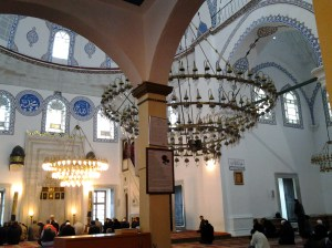 Still not the Blue Mosque, but nonetheless, quite beautiful.