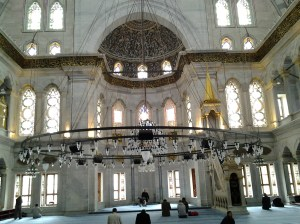 Another cool mosque, but still not the Blue Mosque.
